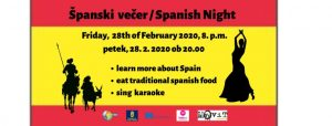 ŠPANSKI VEČER / SPANISH NIGHT